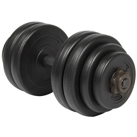 Plate Dumbbell Bcp 64lb Weight Dumbbell Set Adjustable Cap Barbell