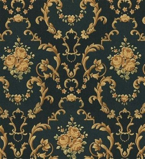 gold victorian wallpaper green and gold victorian pattern wall to wall wallpaper
