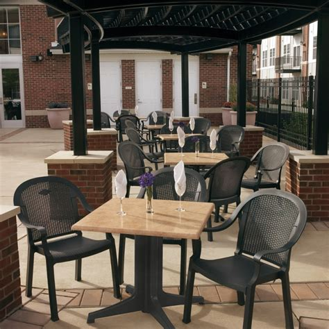 commercial outdoor plastic resin restaurant chairs bar restaurant furniture tables chairs