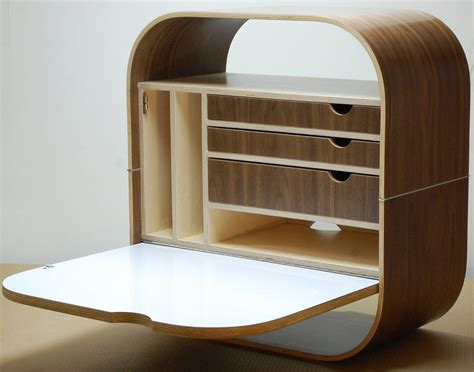 Wall Mounted Desk by 8 Wall Mounted Desks That Save Room In Small Spaces