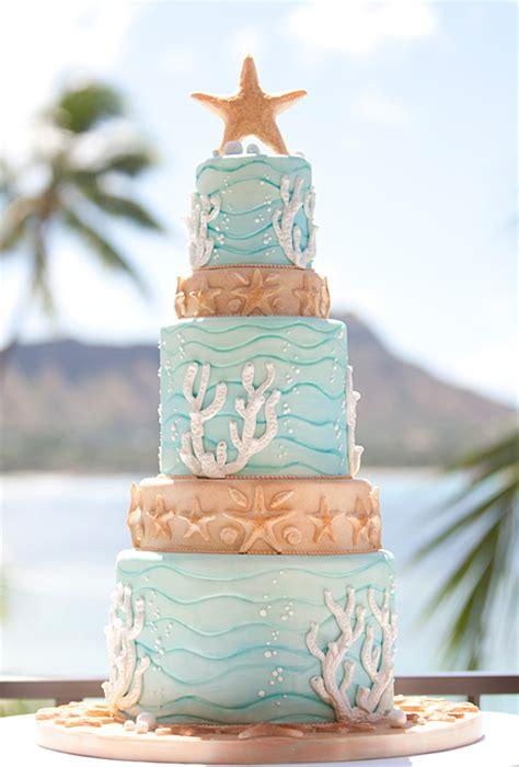 beach wedding a wedding cake blog