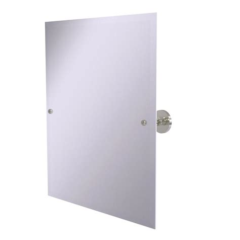 max collection rectangular tilting mirror bathroom gatco max 31 5 in l x 27 63 in w wall mount rectangular