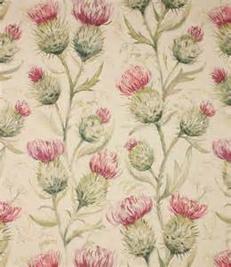 Extra Wide Upholstery Fabric Voyage Decoration Thistle Glen Fabric Summer Just Fabrics