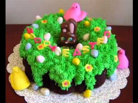 easter cake decorating ideas youtube