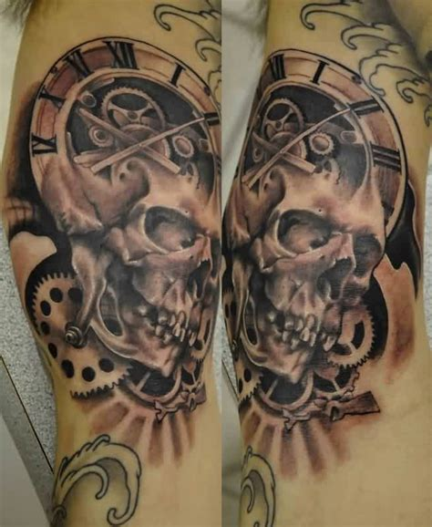 gear tattoo sleeve tattoo collections
