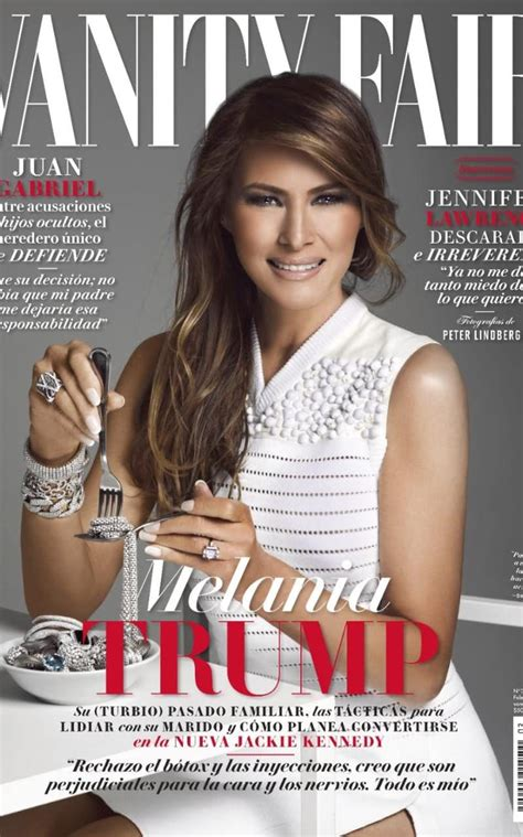 anger as melania featured on vanity fair mexico s