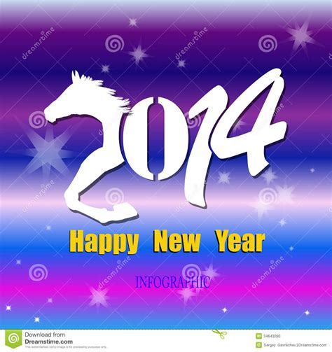 creative happy new year 2014 creative happy new year 2014 stock photo image 34643280