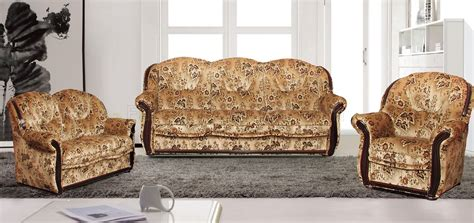 leaf pattern sofa leaf pattern fabric traditional living room w sofa bed