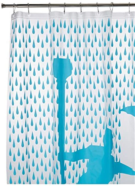 singing in the rain shower curtain cool unique and funky shower curtains for a fun bathroom