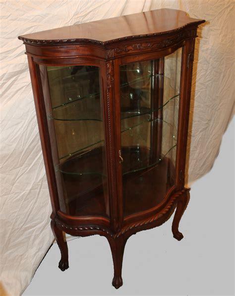 bargain s antiques 187 archive mahogany curio