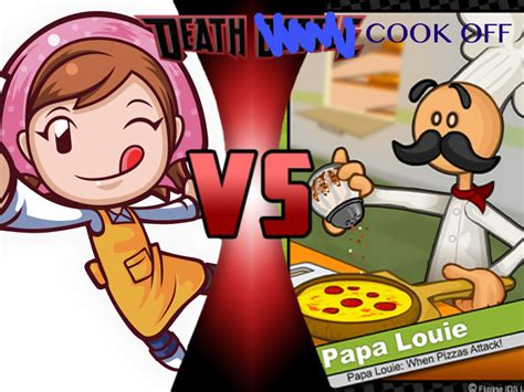 Louie Joins In Bathroom Battle by Cooking Vs Papa Louie By Toxicmouse77 On Deviantart