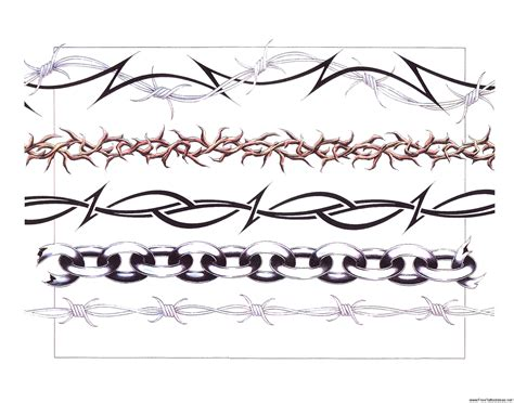 barbed wire tattoos designs armband tattoos