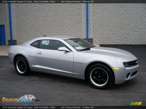 Silver And Black Ls by 2010 Chevrolet Camaro Ls Coupe Silver Metallic Black