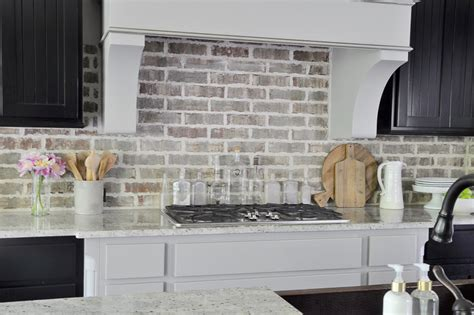 grey brick backsplash how your kitchen became the social hub decor gold designs