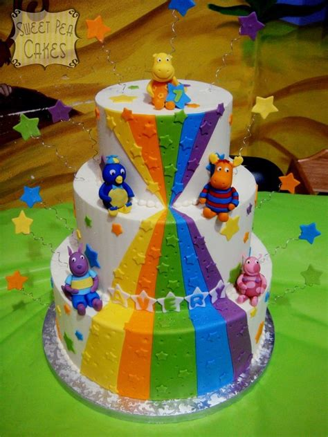 backyardigans birthday cake cakes and cupcakes for