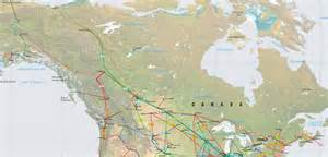 pipeline map america canada and alaska pipelines map crude petroleum