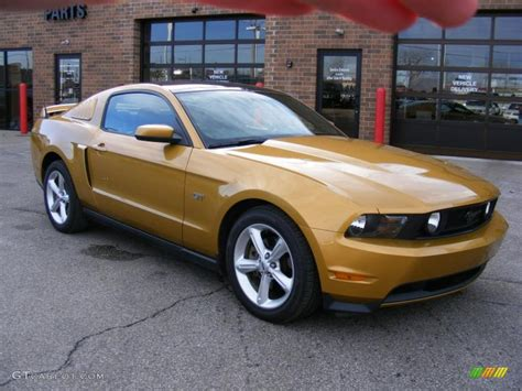 2010 sunset gold metallic ford mustang gt premium coupe 45559788 gtcarlot car color