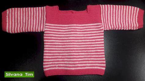 sueter tejidos con agujas para ninas sueter o batita chambrita para bebes bebas para