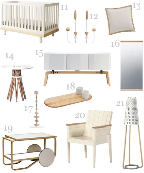 Furniture And Accessories White And Wood Furniture Accessories 2 Stylecarrot