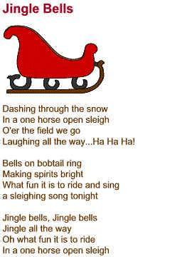 christmas poem jingle bell festival collections