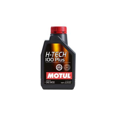 Oli Motul Hi Tech Plus Sae 5w 30 Api Sn jual motul h tech 100 plus 5w 30 1 liter