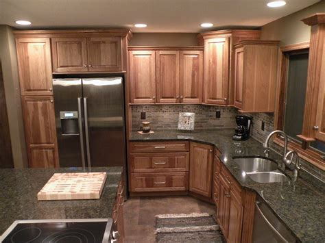 kraftmade kitchen cabinets kraftmaid hickory sunset marquette cabinetry kitchens