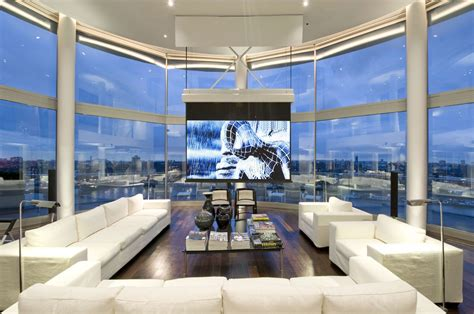 Modern Luxury Penthouses | thames riverside luxury penthouse apartment idesignarch