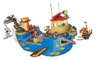 mega bloks skylanders flynn rescue ship toyqueen