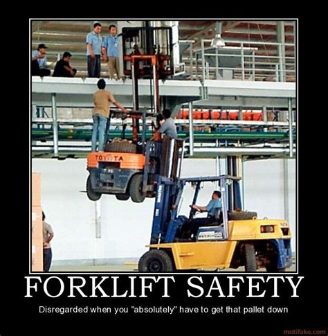 Warehouse Meme - forklift safety meme