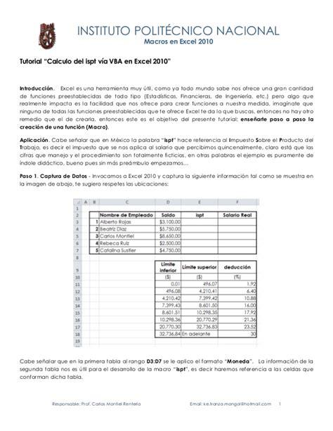 tutorial uso excel 2010 tutorial vba ispt excel 2010 elbragao69 ipn prof carlos