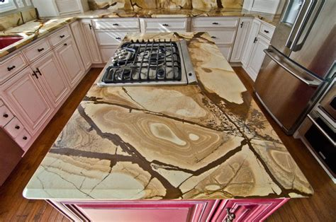Wood And Granite Countertops by Wood Granite Countertops Traditional Kitchen