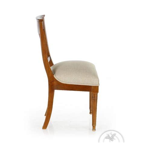 chaise bois et tissu chaise en bois et tissu palmette saulaie