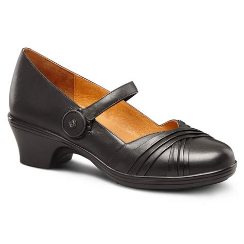 Comfort Dress Shoes For by Dr Comfort Cindee S Diabetic Depth Heel Dress