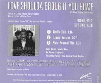 toni braxton shoulda brought you home promo cd