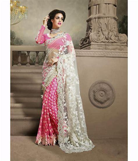 Orderan A N Sari sareeshop designer sarees pink net saree buy sareeshop designer sarees pink net saree