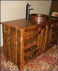 bathroom vanity rustic log cabin style vanities photo of