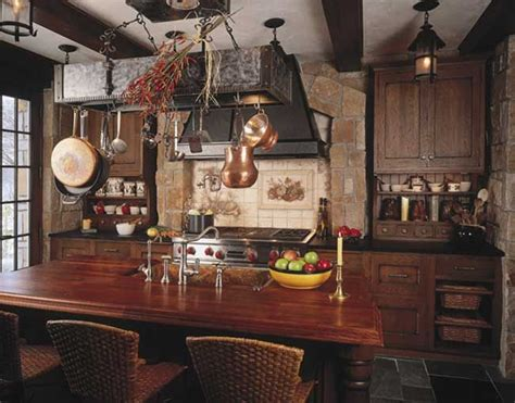 old world kitchen old world kitchen with brick hearth and ceramic tile