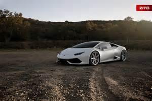 Lamborghini With Rims Bianco Novus Lamborghini Huracan With Anodized Silver Zito Wheels Gtspirit