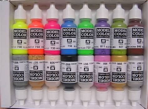 Vallejo 70839 Ultramarine Model Kit Paint 28 acrylic model paints by vallejo ideal for painting