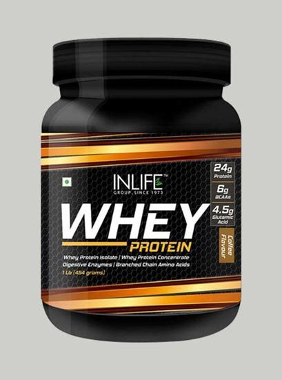 Whey Protein 1 Lbs Neulife Store Inlife Whey Protein Powder 1 Lbs Coffee