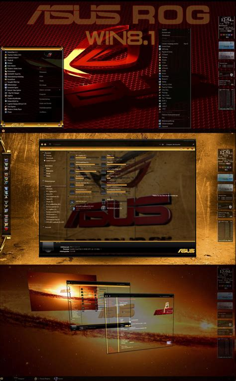 themes windows 8 1 asus asus theme for win8 8 1 skin pack customize your