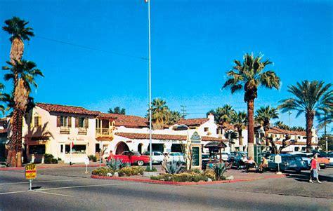 plaza shopping center  palm springs california  dodge sierra
