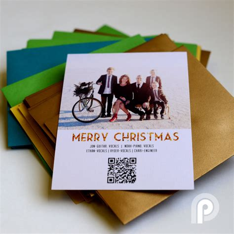 make your own singing card create a custom card with qr codes persnickety prints