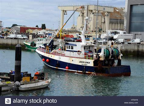 fishing boat tuna tuna fishing boat in fishing port of les sables d olonne