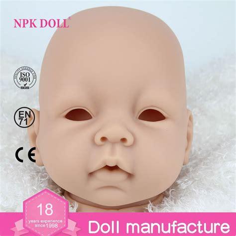 doll kits 22inch silicon vinyl doll kits diy reborn baby doll parts