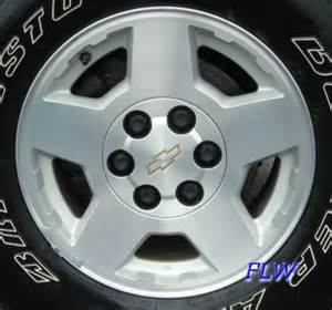 Stock Chevy Truck Wheels 2005 Chevy Silverado Oem Factory Wheels And Rims