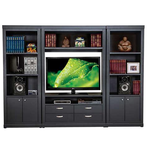 muebles libreros librero 3 m 243 dulos con espacio para pantalla y