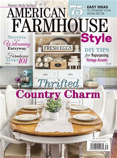 cottage style magazine cottages and bungalows magazine american farmhouse style