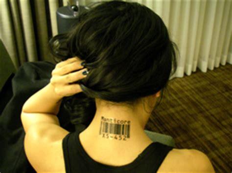 custom barcode tattoos by scott blake barcode tattoos by scott blake