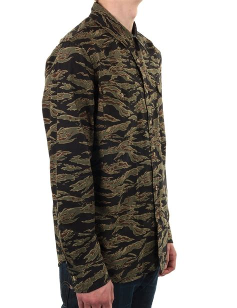 Obey Camo obey clothing field assassin tiger camo shirts from iconsume uk